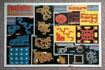 FINAL FANTASY - Nes Game World Map - $9.99 | PicClick