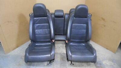 07 Volkswagen Golf GTI 2 Door Front Leather Sport Bucket & Rear Bench Seats OEM