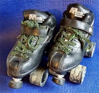 Rock Skate Gt50 Sure Grip Quad Roller Skates Sg 6888 Women's 7 Black Camo Wheels