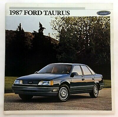 Car Auto Brochure 1987 Ford Taurus 22 Pages