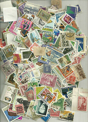 500 Worldwide Stamps,  All Different, No Us 17