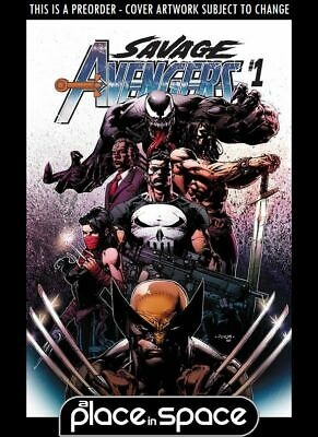 (Wk18) Savage Avengers #1A - Preorder 1St May