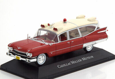 Cadillac Miller Meteor Ambulance 1959 Editions Atlas 7495002 1/43