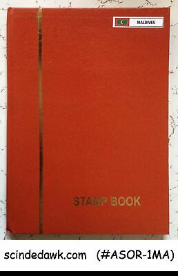 Collection Of Maldives Stamps In Small Stock Book -