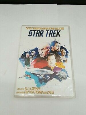 Star Trek: The Next Generation Motion Picture Collection DVDs | 4 Movies