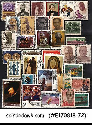 India - 1978 Complete Year Stamps Set - 34V - Mint Nh