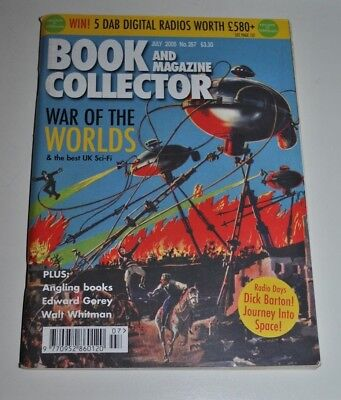 Book Collector # 257 July 2005 Birth of UK Sci-fi - Wells, Wyndham, Walt Whitman