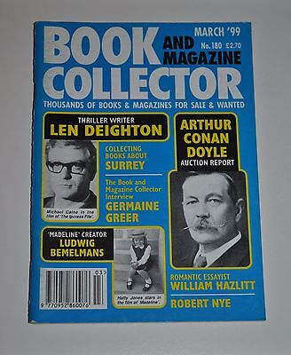 Book Collector # 180 March 1999 - Len Deighton, Germaine Greer, Robert Nye