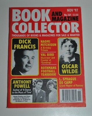 Book Collector # 164 November 1997 - Dick Francis, Oscar Wild, Anthony Powell