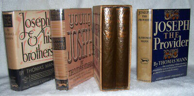 Thomas Mann   1st/dj   JOSEPH AND HIS BROTHERS   Signed by Mann  complete set