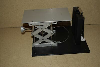 "@@ Optical Stage Set Up Stage Is 9 1/2"" X 5 1/2"" -Lab Jack"