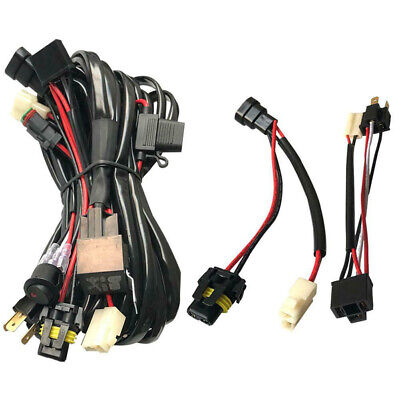High Switch Wiring Harness Beam Quick For Narva LLA 40A Professional 12V Dual