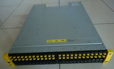 HP 3PAR M6710 QR490-63012 24x900GB HDD 2xQR491-04400 2x580WPCM PSU