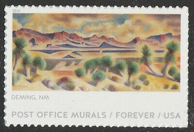 US 5376 Post Office Murals Deming NM forever single (1 stamp) MNH 2019