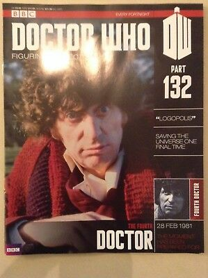 Doctor Who - Figurine Collection - issue 132 - The Fourth Doctor (MAG ONLY)