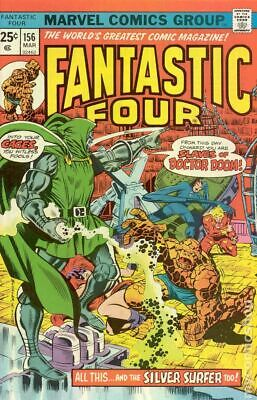 Fantastic Four (1st Series) #156 1975 VG 4.0 Stock Image Low Grade