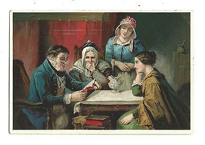 Old Trade Card Dr Jaynes Tonic Vermifuge Words Comfort Ross Elizabethtown PA