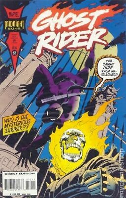 Ghost Rider (2nd Series) #52 1994 FN Stock Image