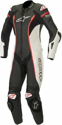Alpinestars Stella Missile Womens 1-pc Leather Suit Black/White/Red