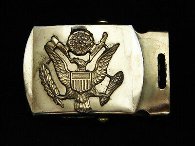 OC15138 VINTAGE 1970s **SEAL OF THE UNITED STATES OF AMERICA** PATRIOTIC BUCKLE