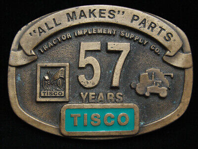Od01119 Vintage 1994 **Tisco Tractor Implement Supply Co** Agriculture Buckle