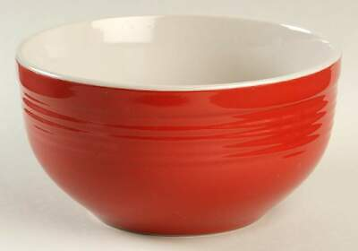 Gibson Designs CARNEGIE-RED Soup Cereal Bowl 4727324