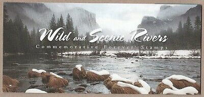 US 5381 Wild and Scenic Rivers First Day of Issue Ceremony Invitation 2019