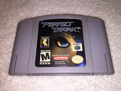 PERFECT DARK N64 Authentic Nintendo 64 Cartridge Only