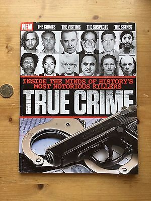 True Crime Bookazine - 144 Pages - Great Read - £9.99 - Vgc
