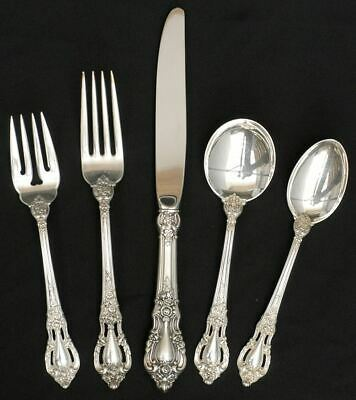 Lunt ELOQUENCE STERLING 5 Piece Place Setting 6034883