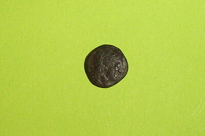 Islands off Lesbos 400 BC ancient GREEK COIN panther NESOS treasure old artifact
