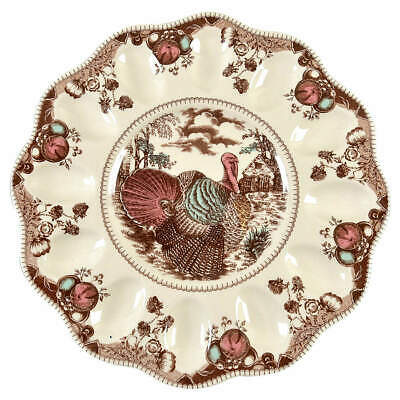 Johnson Brothers HIS MAJESTY Deviled Egg Plate (Imperfect) 7659923
