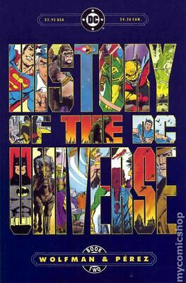 History of the DC Universe #2 1986 FN Stock Image
