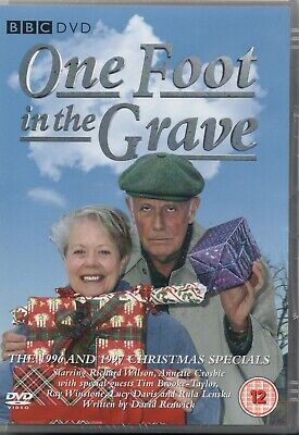 ONE FOOT IN THE GRAVE - The 1996 & 1997 Christmas Specials - DVD *NEW & SEALED*