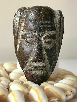 african hibhab stone rare and extremely old  هبهاب مصور وجه .. هبهاب افريقي قديم