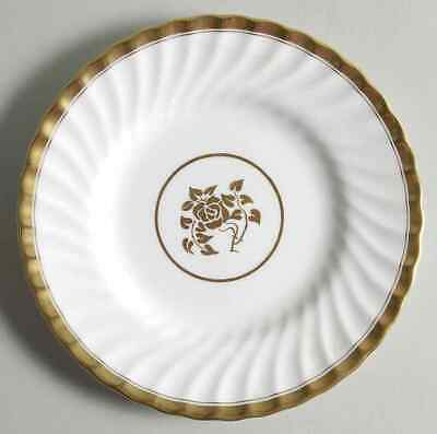 Minton GOLD ROSE Dessert Pie Plate 331001