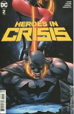 Heroes in Crisis (DC) #2A 2018 Mann Variant NM Stock Image