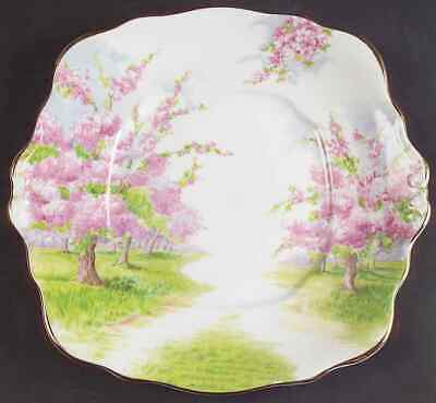 Royal Albert BLOSSOM TIME Square Handled Cake Plate 615742