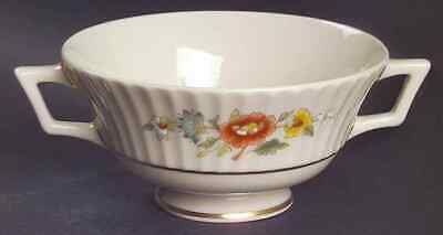 Lenox TEMPLE BLOSSOM Footed Cream Soup Bowl 5897388