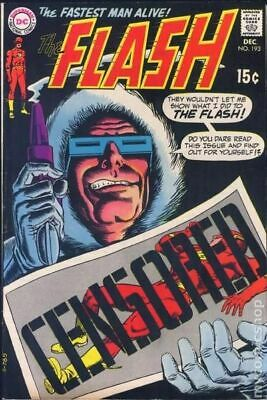 Flash (1st Series DC) #193 1969 VG- 3.5 Stock Image Low Grade