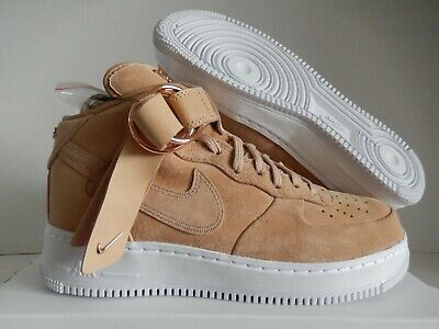 697edeeff9db5 NIKE AIR FORCE 1 Mid CMFT V Cruz # AO9298 200 Tan Gold Victor Men SZ ...