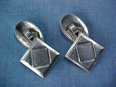 Kalo Sterling Silver Cufflinks Chicago Arts & Crafts Kalo Shops Handwrought