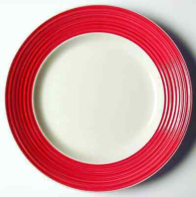 Gibson Designs CARNEGIE-RED Salad Plate 4727323