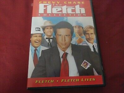The Fletch Collection Chevy Chase 2 Disc Dvd Movie Film Universal 1985 1989 Pg