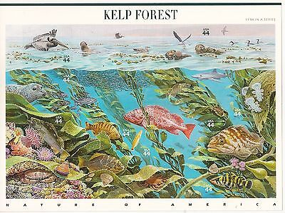 US 4423 Nature of America Kelp Forest 44c sheet MNH 2009