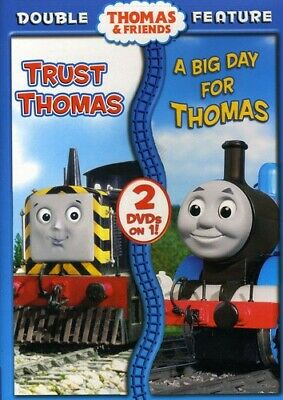 Thomas & Friends - Double Feature DVD New Sealed Trust Thomas & A Big Day For