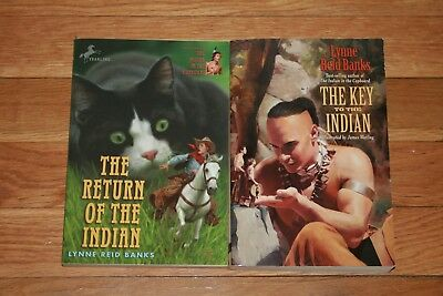 Complete Set Series Lot Of 5 Indian In The Cupboard Books By Lynne
