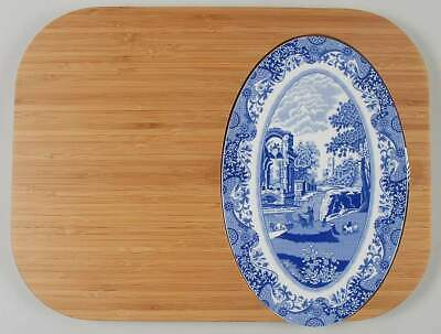 Spode BLUE ITALIAN Bamboo Chop & Serve Board (Pimpernel) 8784469