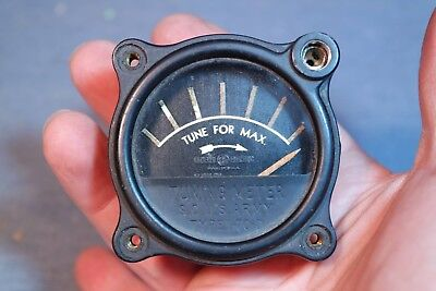 "2/""Panel Meters 0-1mA Movement Great for QRP and Other Homebrew Projects 2//Lot"