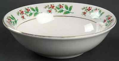 Gibson Designs HOLIDAY GOLD Soup Cereal Bowl 8367143